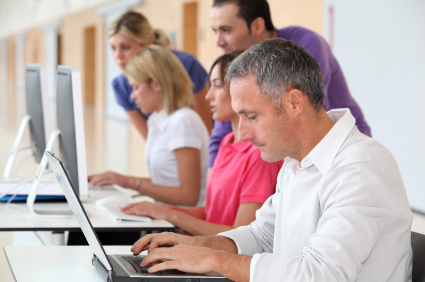 people computer training - iStock_000016097946XSmall
